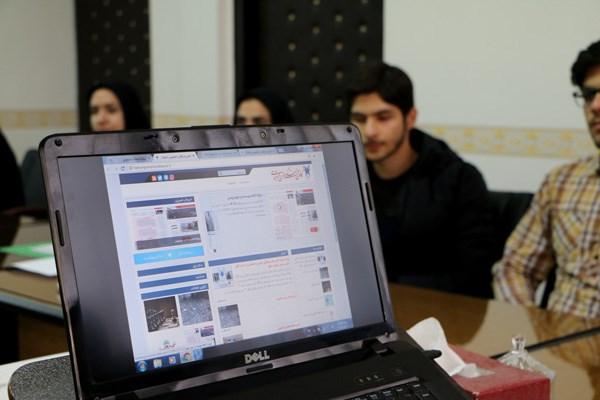 رونمایی از وبسایت کانونهای دانشجویی فرهنگی واحد بجنورد